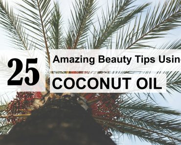 25 beauty tips coconut oil