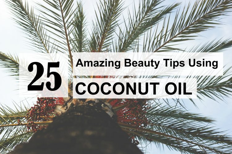 25 beauty tips coconut oil
