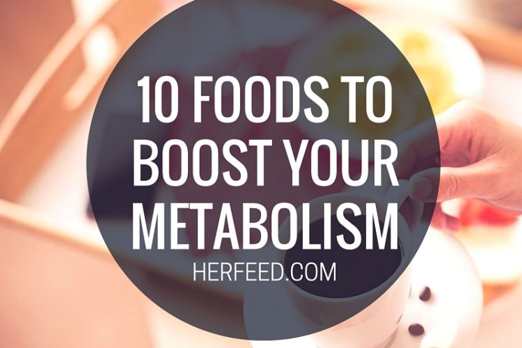10 foods to boost your metabolism