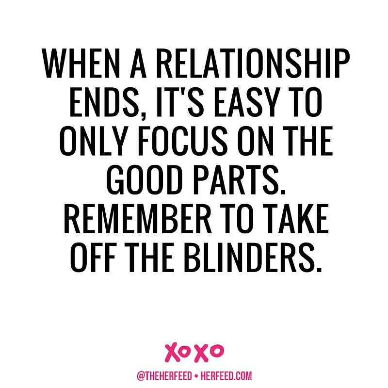 TAKE OFF THE BLINDERS