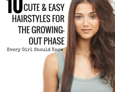 10 Cute and Easy Hairstyles for the Growing-Out Phase
