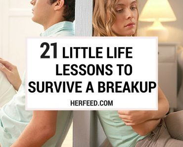21 LIFE LESSONS TO SURVIVE A BREAK UP