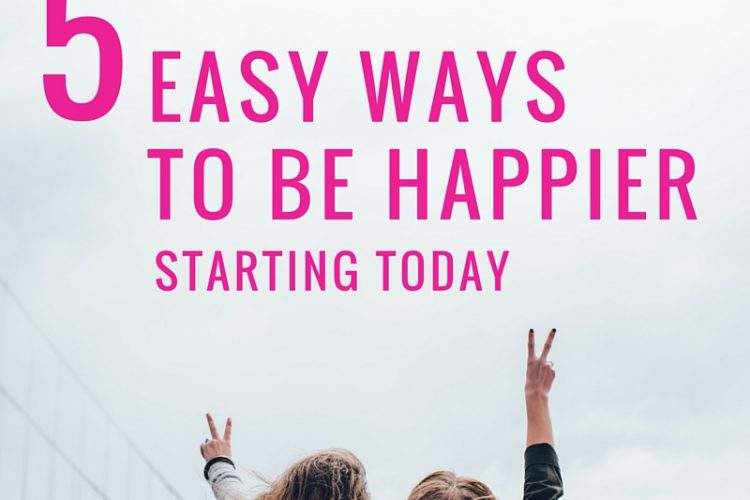 5 ways to improve your happiness