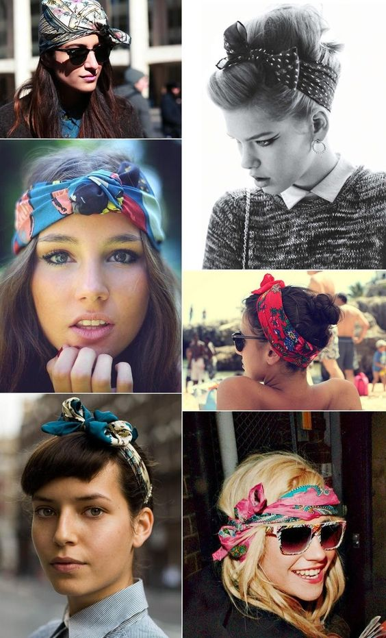 5 cute ways wear bandana
