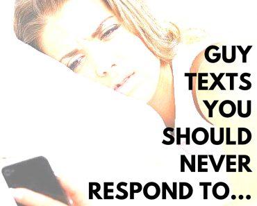 Guy Texts Ignore