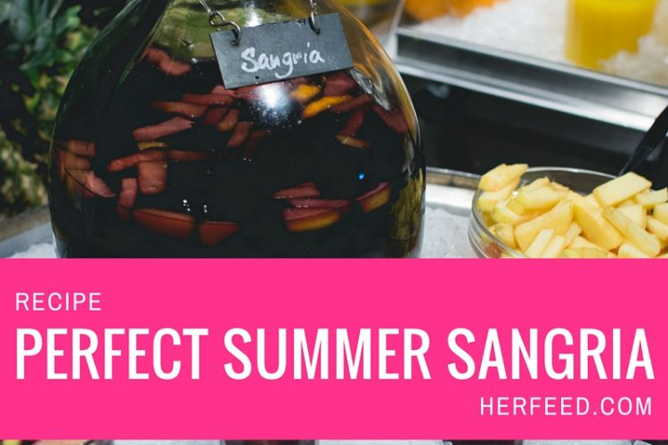 Drink Recipe: The Perfect Summer Sangria