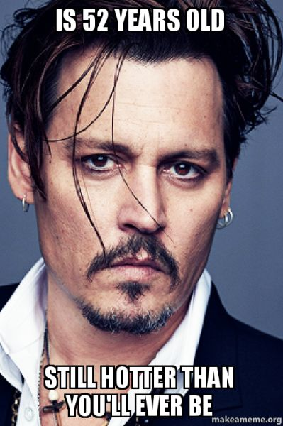 Johnny Depp just gets better with age!