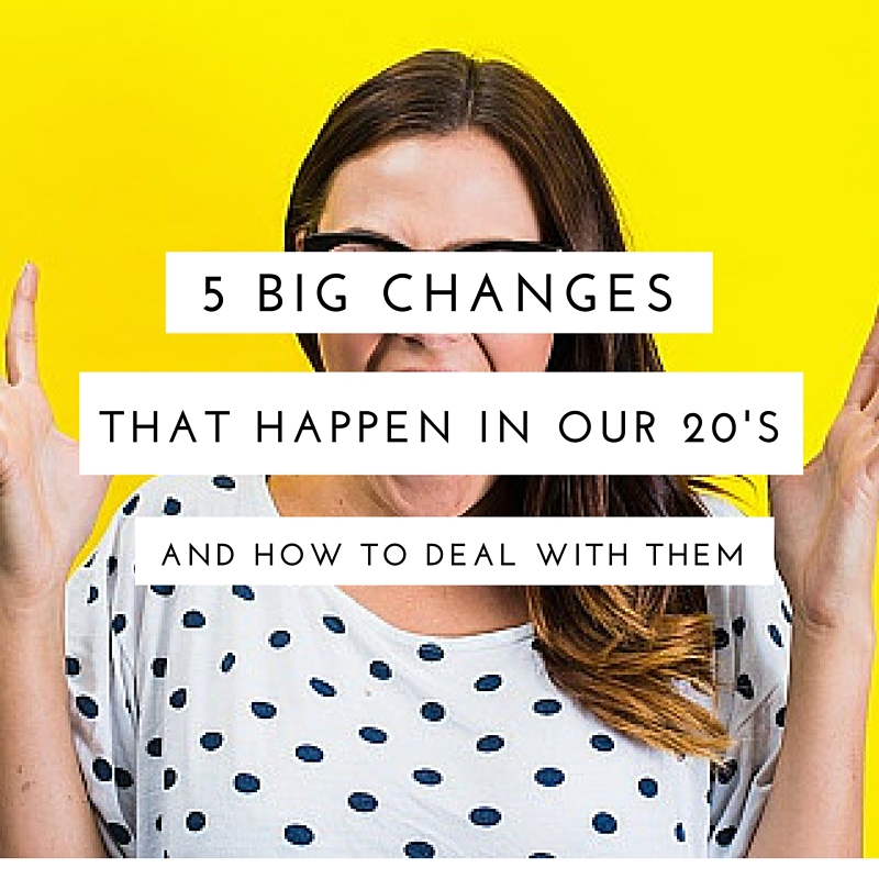 5 Age-Related Changes in Our 20s