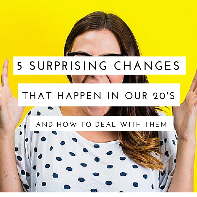 5 Surprising Age-Related Changes in Our 20s