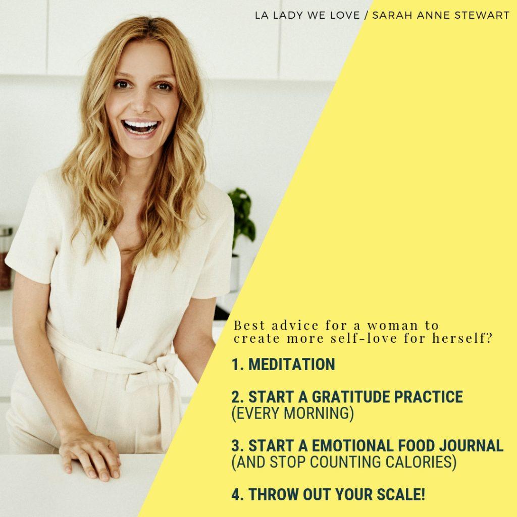 LA Lady We Love - Sarah Anne Stewart