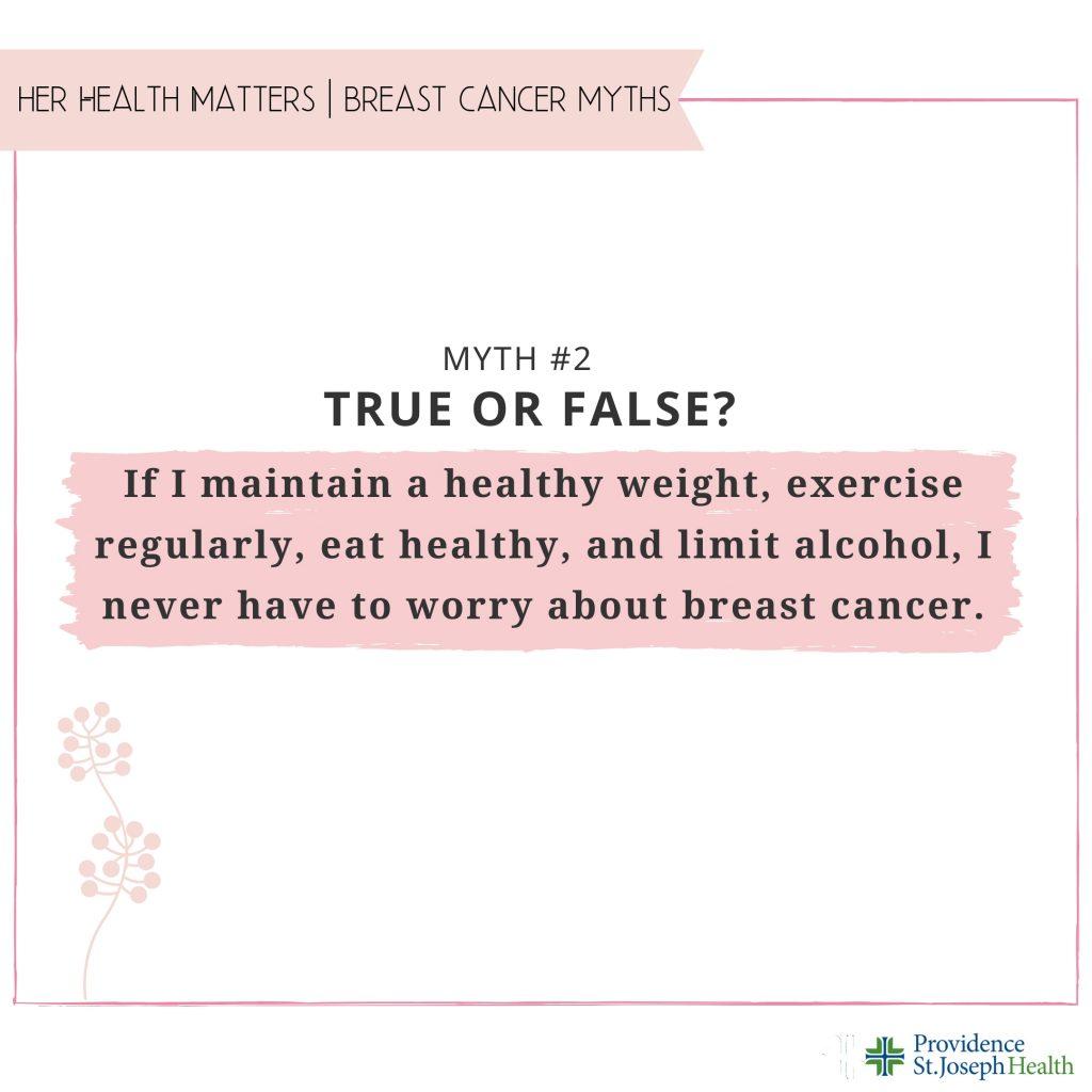 Breast Cancer Myth 2