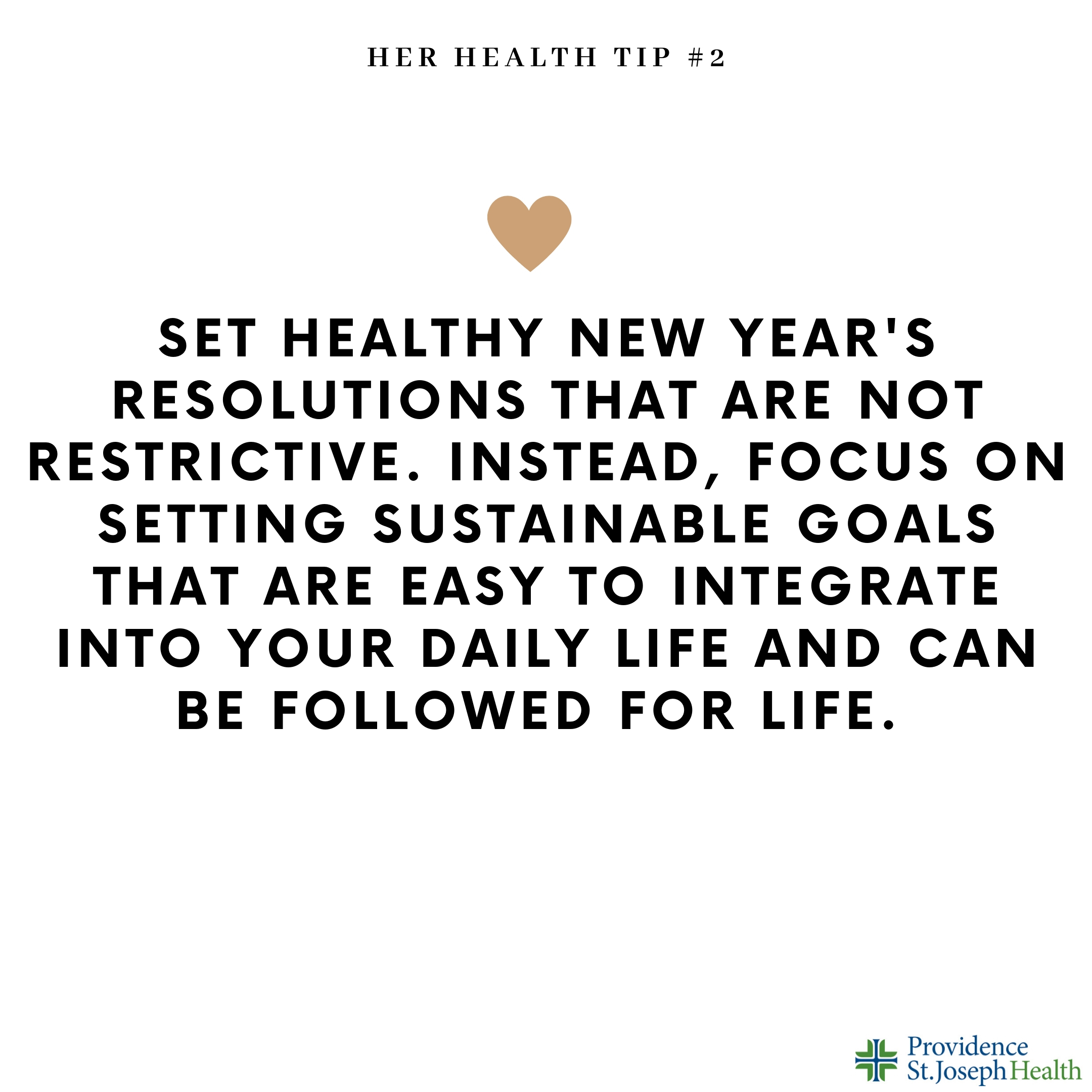 Healthy Resolutions